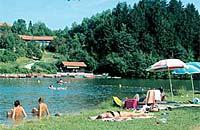 Der Rannasee in Wegscheid Passauer Land